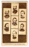 "Cdv - ""Commanders Of The Potomac Army"""