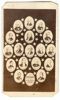 Nice Cdv First Seventeen Presidents of the United States