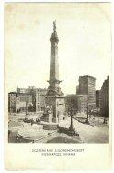 Nice Cabinet Card - Indiana Soldiers & Sailors Monument