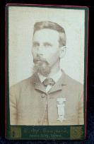 Lieutenant/Captain Charles Birnbaum, Co. D, 36th Iowa Infantry - Post War Birnbaum eventually moved to Arkansas, after having served there during the war.