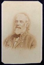 "Nice ""In The Field"" Cdv View of Confederate General Robert E. Lee"
