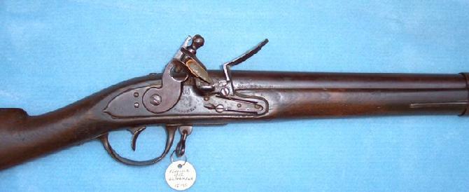 Flintlock Musket Parts Flintlock Musket W/several