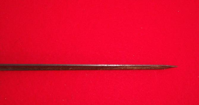 Nice Relic Condition M1855 Springfield Rifle Bayonet